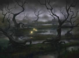 Swamp by artofmarius