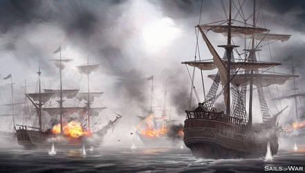 Sails of War 2 by artofmarius