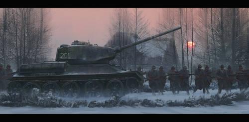 Tank by artofmarius