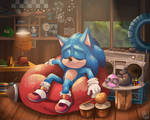 New home- Sonic the hedgehog (movie)