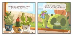 cactus with legs (brawls stars comic)