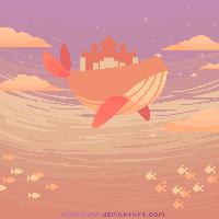 Castle in the Sky by mofufuu