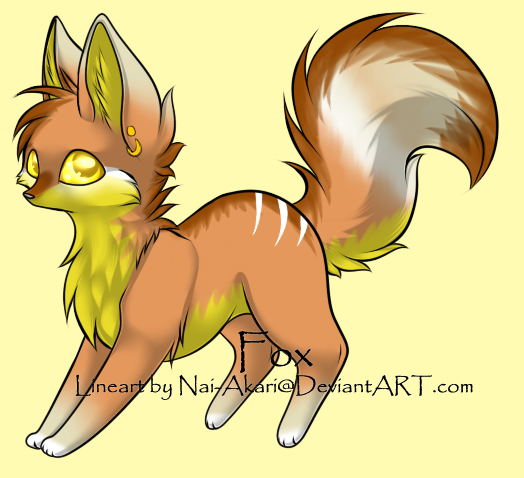 CLOSED - Fox Adoptable 38 -LOWERED PRICE- by LeaAdoptables
