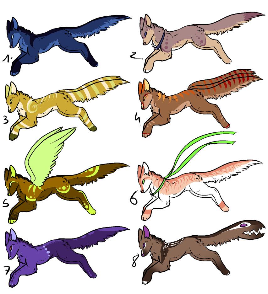 CLOSED - Creatures Adoptables 274 by LeaAdoptables