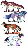 CLOSED - Canines Adoptables 386 by RigelAdopts