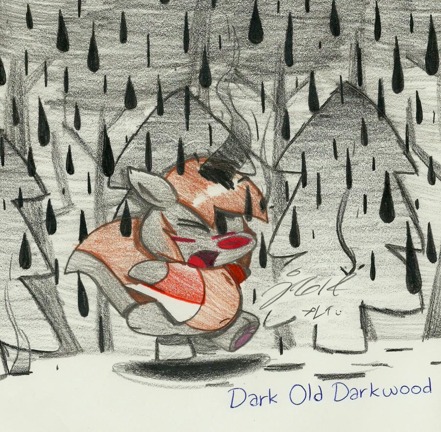 Dark Old Darkwood by Jusu-Tengu