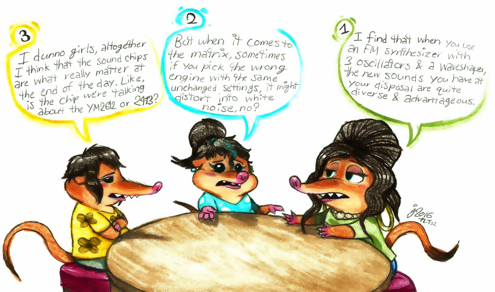What's Up in Little Rodentia? by Jusu-Tengu