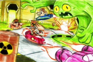 Toxic Dash by Jusu-Tengu