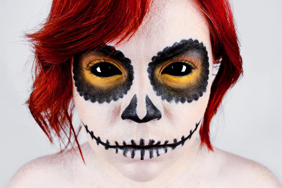 Skull Girl 7 by SydneyNicole