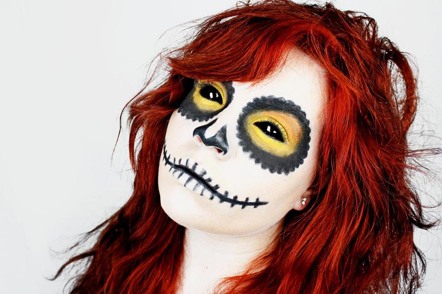 Skull Girl 8 by SydneyNicole