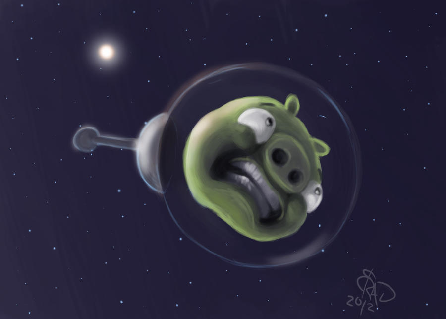 angry birds space by bradsmith20 d4s9v60 Download Angry Birds Space Wallpaper for PC, iPhone and Mobiles