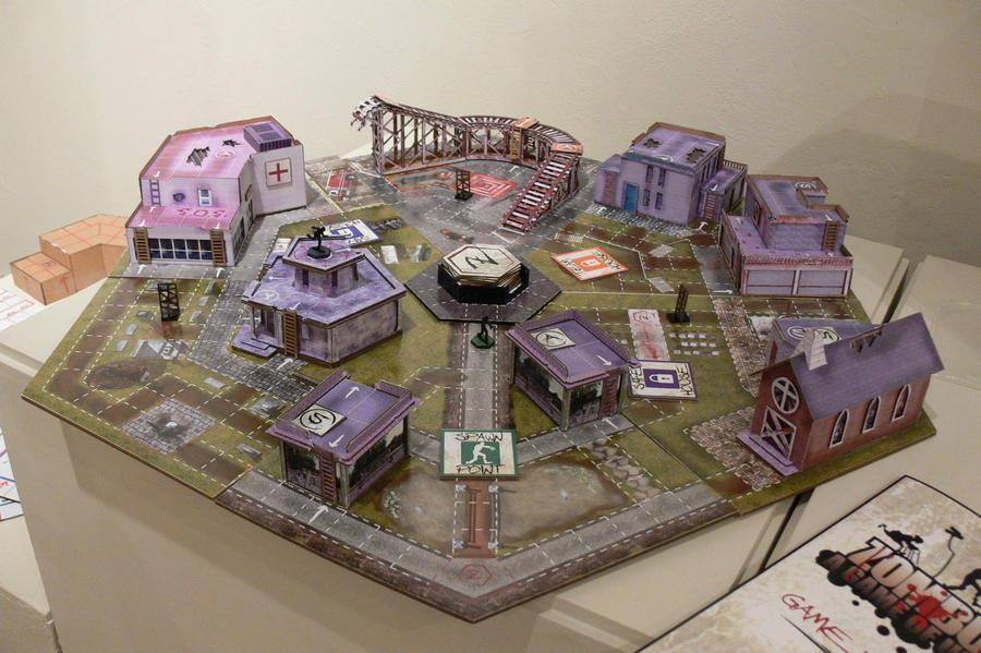 Zombie survival game online city