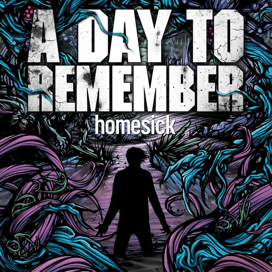 ADTR Homesick Cover Remake by XInfectionX on DeviantArt A Day To Remember Homesick Album Cover Wallpaper