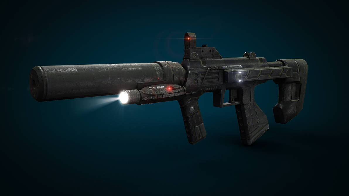 Halo 3: ODST Silenced SMG by XInfectionX on DeviantArt