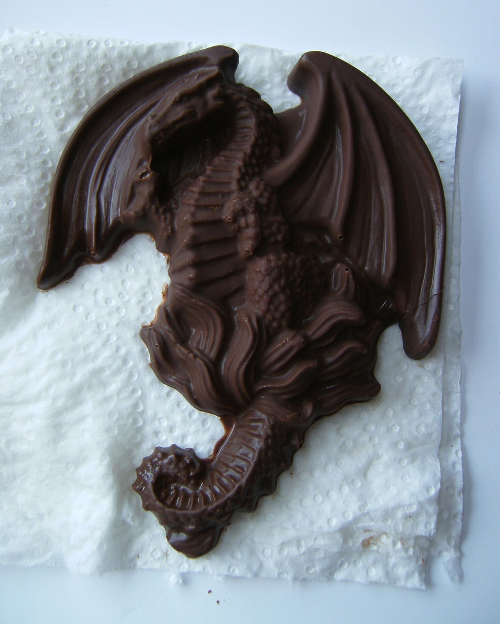 Flying Chocolate Dragon By Draelen On Deviantart