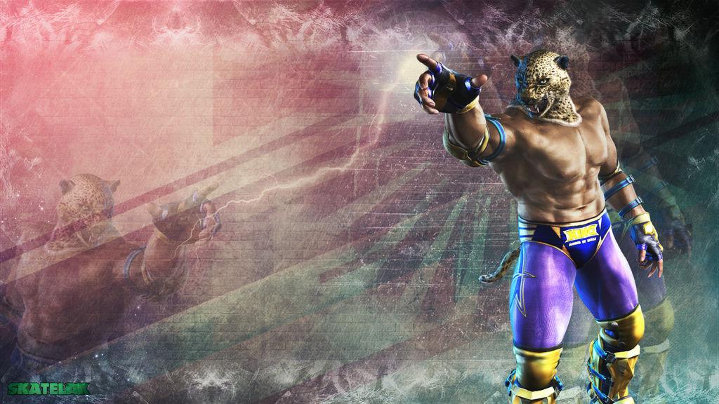 Wallpaper De Tekken King I M King By Skatelak By Skatelak On