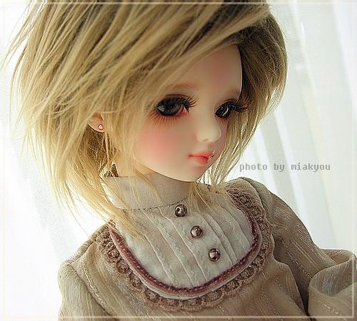 Cute Girl with Short Hair by miakyou on DeviantArt