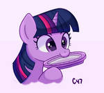 Twilight nibbling plate