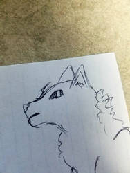 wolf 3 by KarasuFang