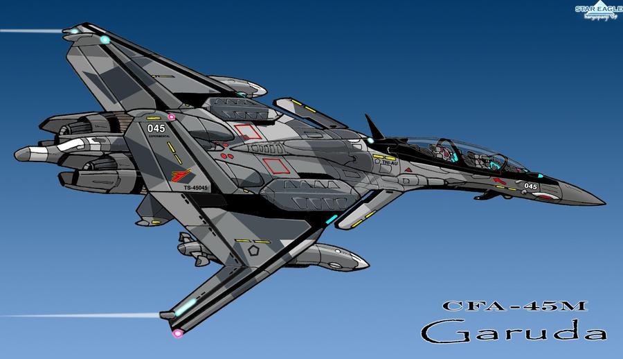 CFA-45M Garuda_TNI-AU by haryopanji
