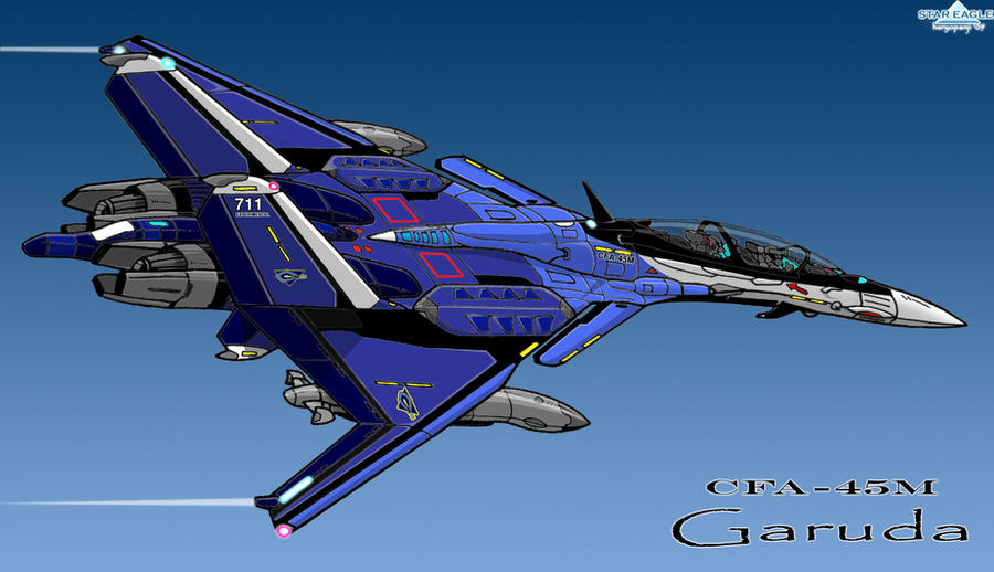 Cfa 45m Garuda Icarus By Haryopanji On Deviantart