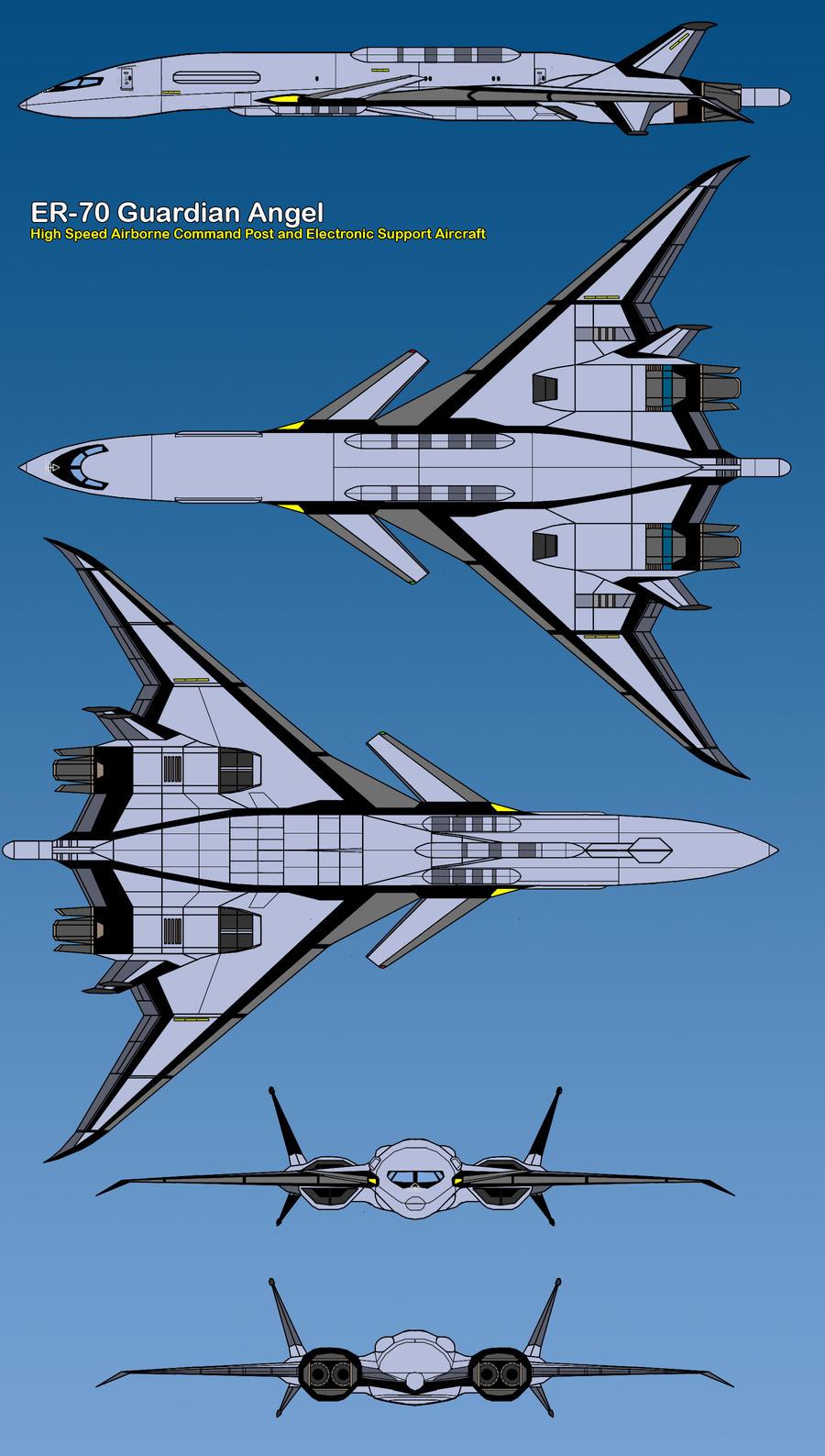 ER-70 Guardian Angel by haryopanji