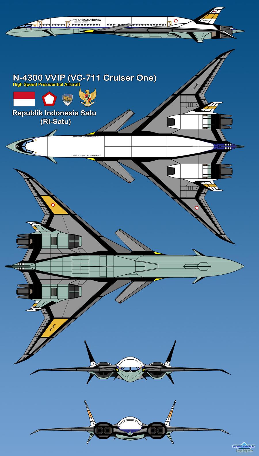 VC-711 Royal Chariots TNI-AU by haryopanji
