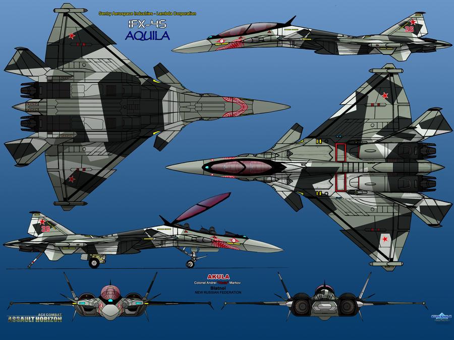 IFX-45 Aquila AKULA by haryopanji