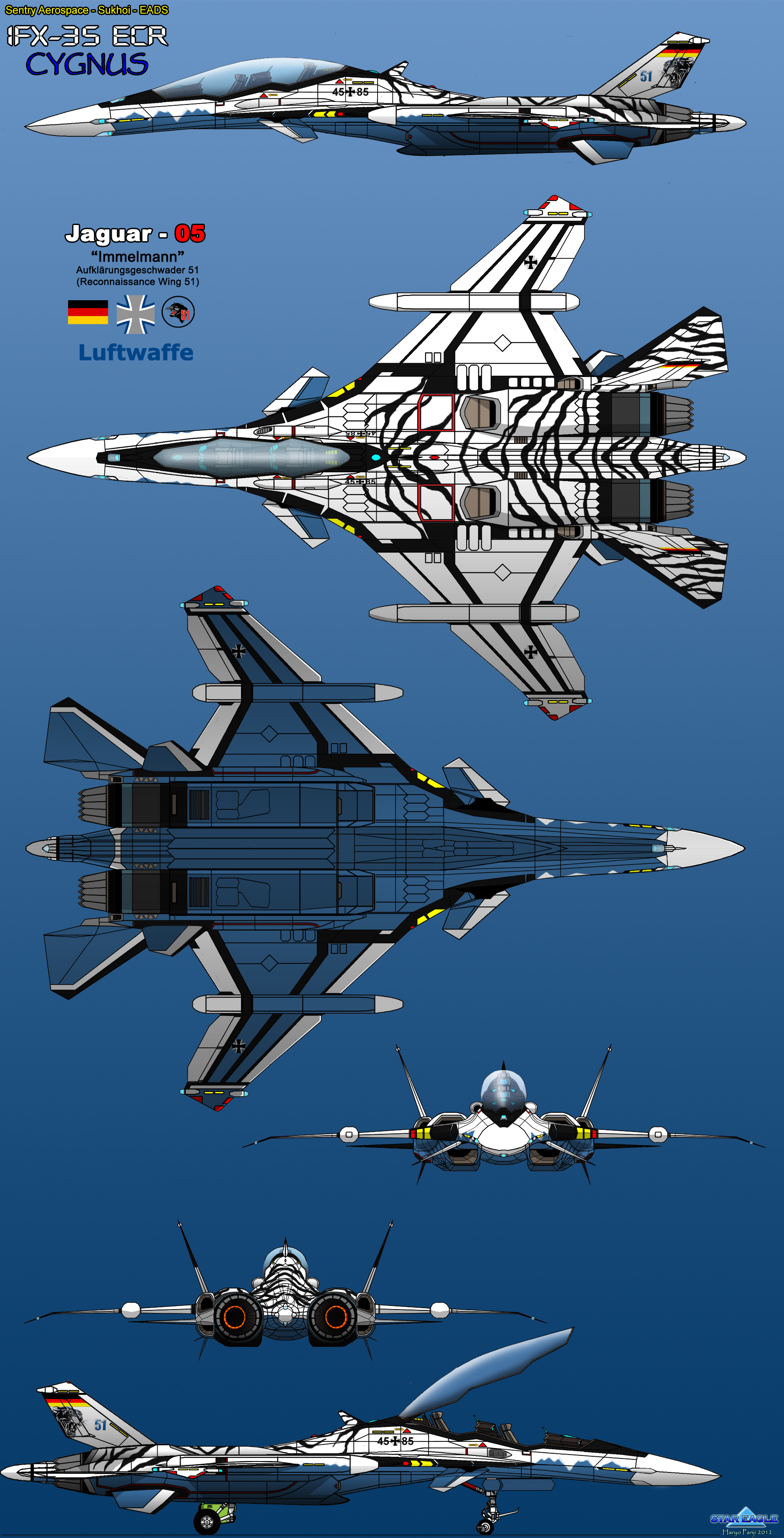 IFX-35 ECR Cygnus - Artic Tiger by haryopanji