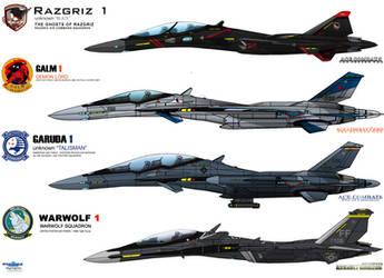 IFXs - ACE COMBAT 5, Zero, 6, Assault Horizon by haryopanji
