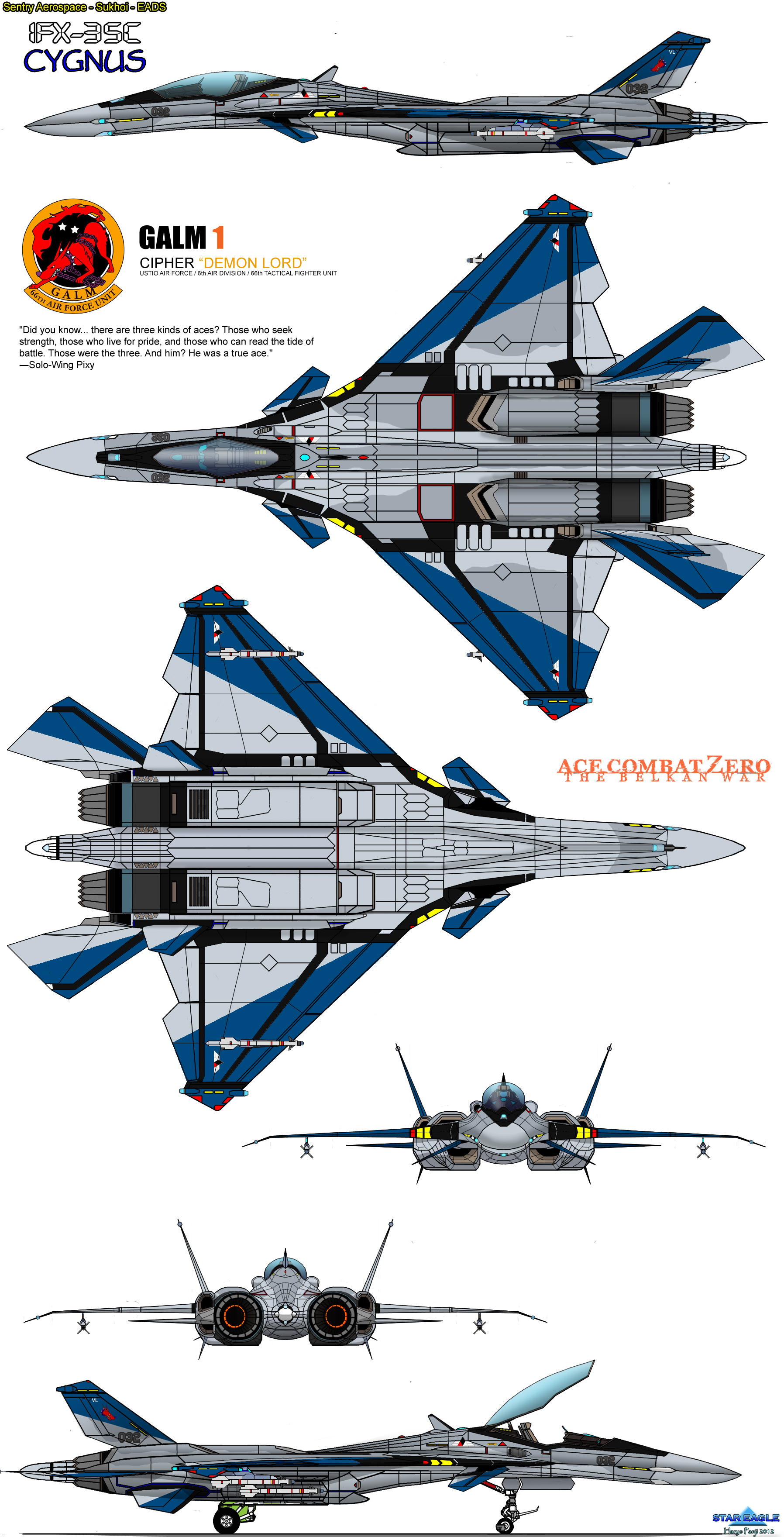 IFX-35C Cygnus GALM-1 by haryopanji