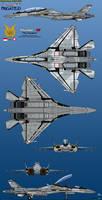 Su-55MKK Frigate-D TNI-AU (Indonesian Air Force)