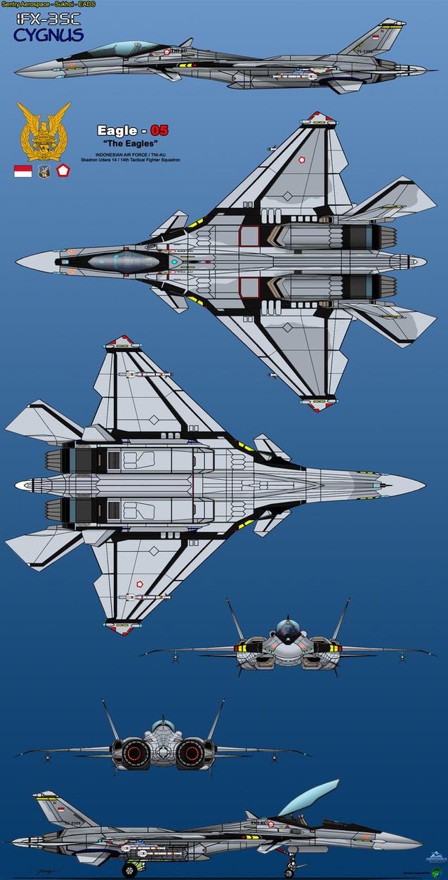 IFX-35C Cygnus TNI-AU by haryopanji