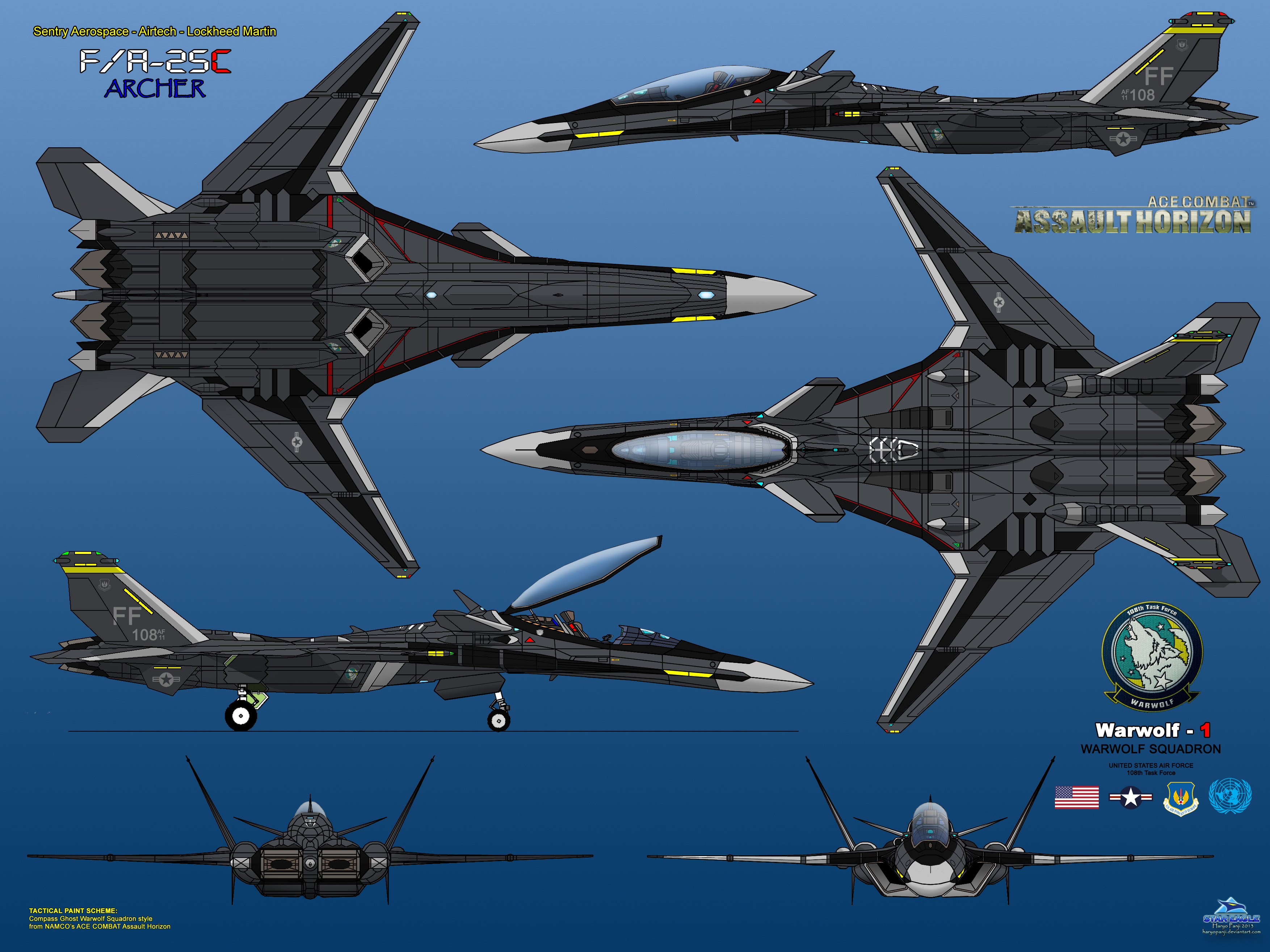 F/A-25C Archer by haryopanji