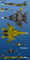 Su-53S Frigate 6-View Yellow 13