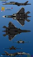 IFX-35G (Electric) Cygnus - TNI-AU by haryopanji