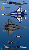 YFX-35E (Advance) Cygnus - First Prototype