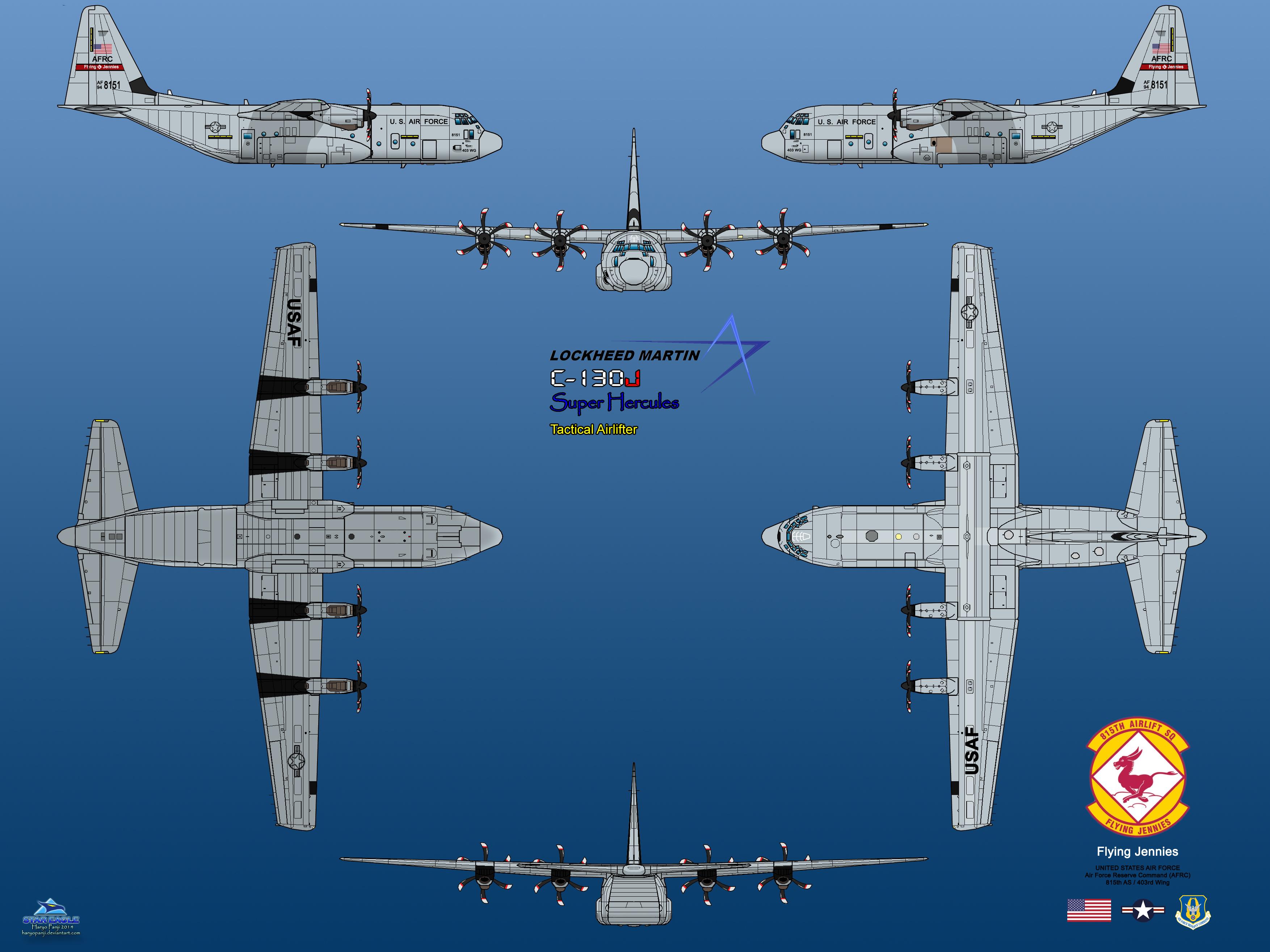 Lockheed martin c 130j super hercules by haryopanji on deviantart