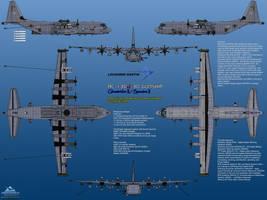 Lockheed Martin AC-130J-30 Ghostrider / Spectre II by haryopanji