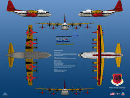 Lockheed DC-130J Drone Carrier by haryopanji