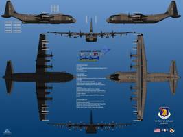 Lockheed MC-130M-30 Combat Spear II by haryopanji
