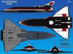 Thunderbird 1 (TB-1) Advance Space Shuttle