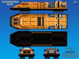 Thunderbird 3 (TB-3) Ground Operation Vehicle by haryopanji