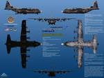 Lockheed YMC-130J Forward RATO Deployed