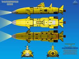 Thunderbird 4 (TB-4) Deep Submergence Vehicle by haryopanji
