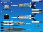 Thunderbird 10 (TB-10) Mini Rocket Ship