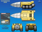 Thunderbird 16 (TB-16) Unmanned Tunneling Vehicle