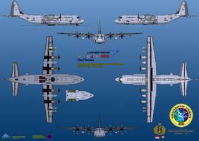 Lockheed SC-130J-30 MPA Sea Hercules by haryopanji