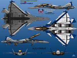 IFX-45QR (Gambit) Aquila - Butterfly Master by haryopanji