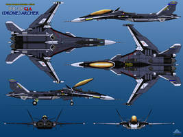 IFX-25QA (Drone) Archer - Prototype by haryopanji